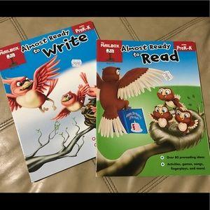 2 books for pre-kinder